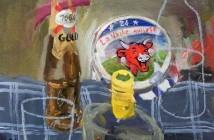 Gopal Dagnogo - Apéro Vache qui rit - 2014 - 41cm Alt x 33cm